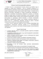 Umweltpolitische Erklärung von Pannon Tools Kft.