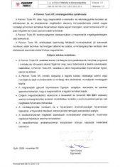 A Pannon Tools Kft. minőségpolitikai nyilatkozata